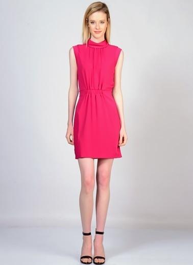 YAS Kolsuz Kısa Elbise Kırmızı